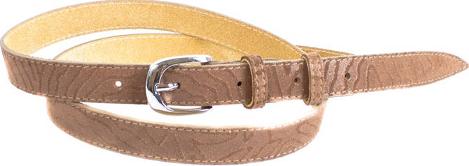 Великолепный женский узкий кожаный ремень MAYBIK (МЕЙБИК) D355574