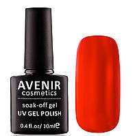 Гель-лак AVENIR Cosmetics №65. Классический красный, фото 1