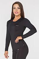 Спортивная женская футболка с длинным рукавом Rough Radical Efficient, лонгслив,рашгард,компрессионная
