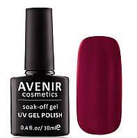 Гель-лак AVENIR Cosmetics №70. Бордовый классический, фото 1