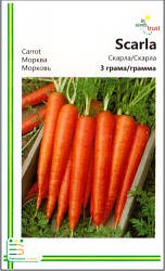 Семена моркови Скарла 3 г, Империя семян