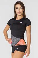 Спортивная женская футболка Radical Reaction SS,рашгард с коротким рукавом,компрессионная