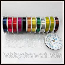 Дріт діам. 0,4 мм колір MIX .(упаковка 10 бобін)