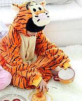 Кигуруми детская 3D тигр пижама
