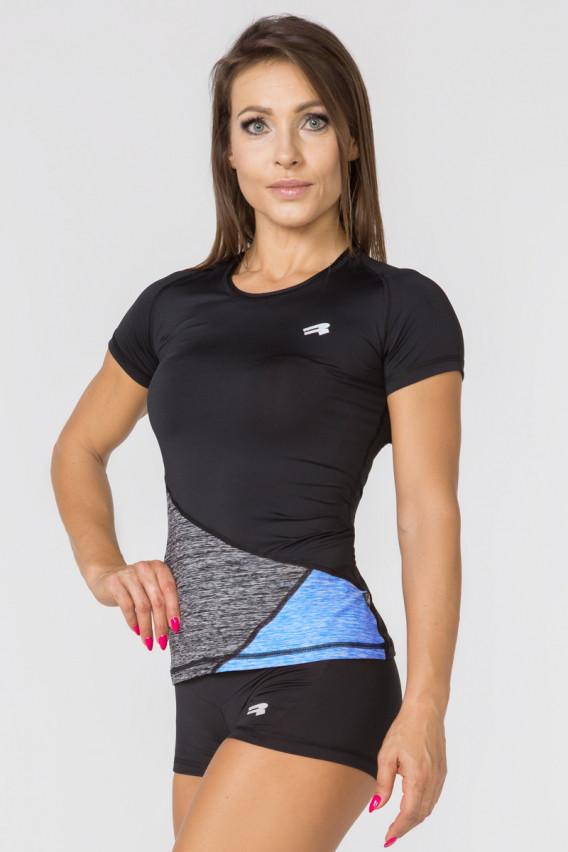 Спортивная женская футболка Rough Radical Reaction SS,рашгард с коротким рукавом,компрессионная