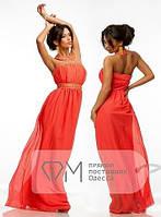 Платье вечернее, шифоновое, легкое воздушное, для праздника  р.44 код 2746М