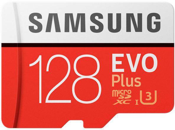 Карта памяти Samsung 128GB microSDXC C10 UHS-I U3 R100/W90MB/s  Evo Pl