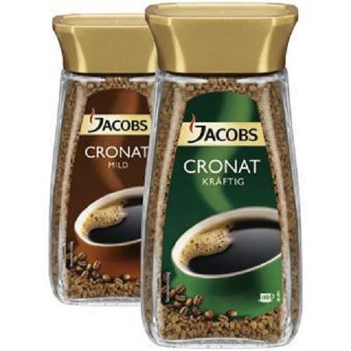Кофе Jacobs Cronat сублимированный 0.2 кг