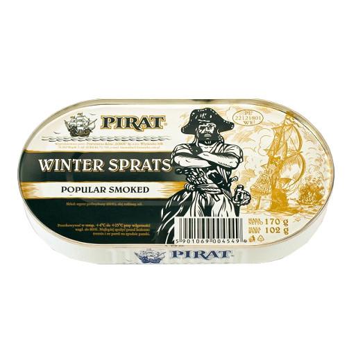 Шпроты в масле Pirat 170 г