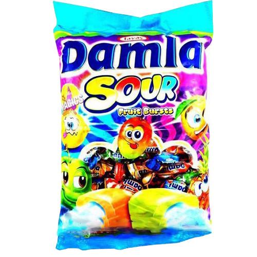 Дамла SOUR жевательные конфеты (TAYAS) 1 кг/8 в ящ