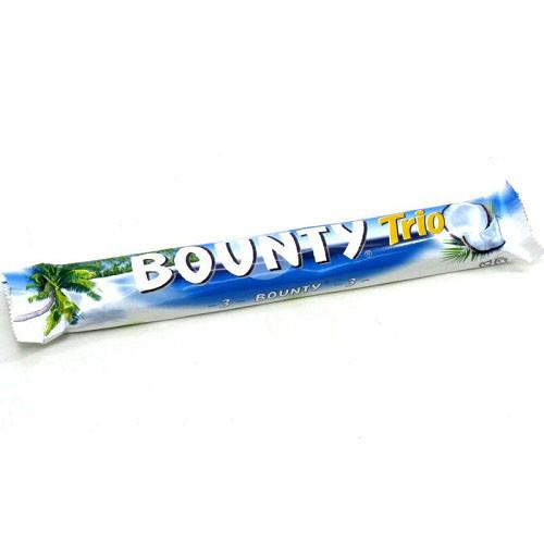 Баунти трио / Bounty Trio шоколадный батончик 85гр/21шт