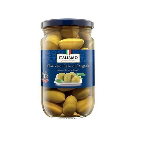 Оливки королевские С/Б Olive verdi Italiamo 700 г