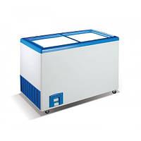Морозильный ларь Crystal Ektor 36 SGL (прямое стекло)