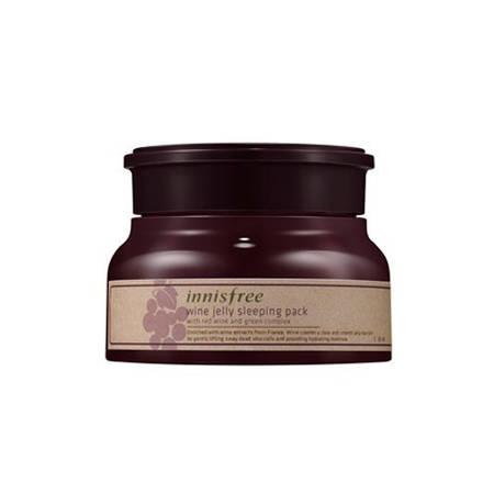 Innisfree  Ночная маска Wine Jelly Sleeping Pack 80ml