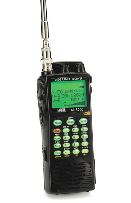 Скануючий приймач AOR AR8200 Mk3