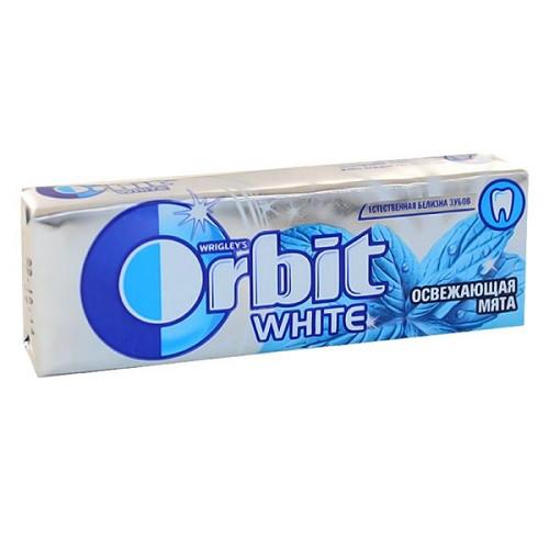 Орбит / Orbit жевательная резинка Свеж Мята (синий) 14гр/30шт