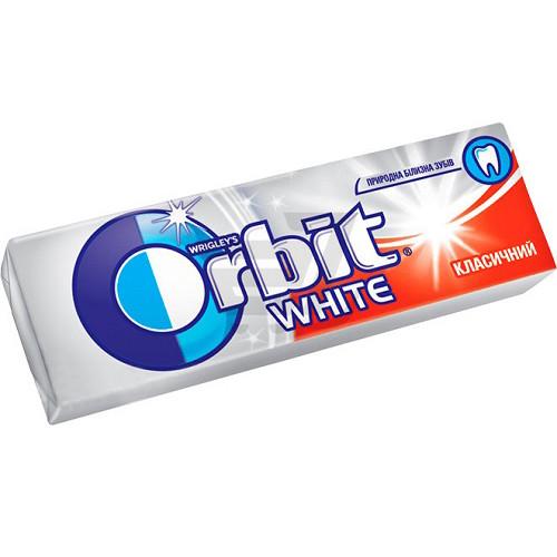 Орбит / Orbit жевательная резинка Вайт Класический (красный) 14гр/30шт