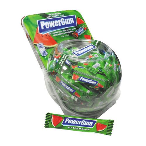 Повер Гам арбуз жевательная резинка  (Pro Gum) 3 г/300 шт/6 в ящ