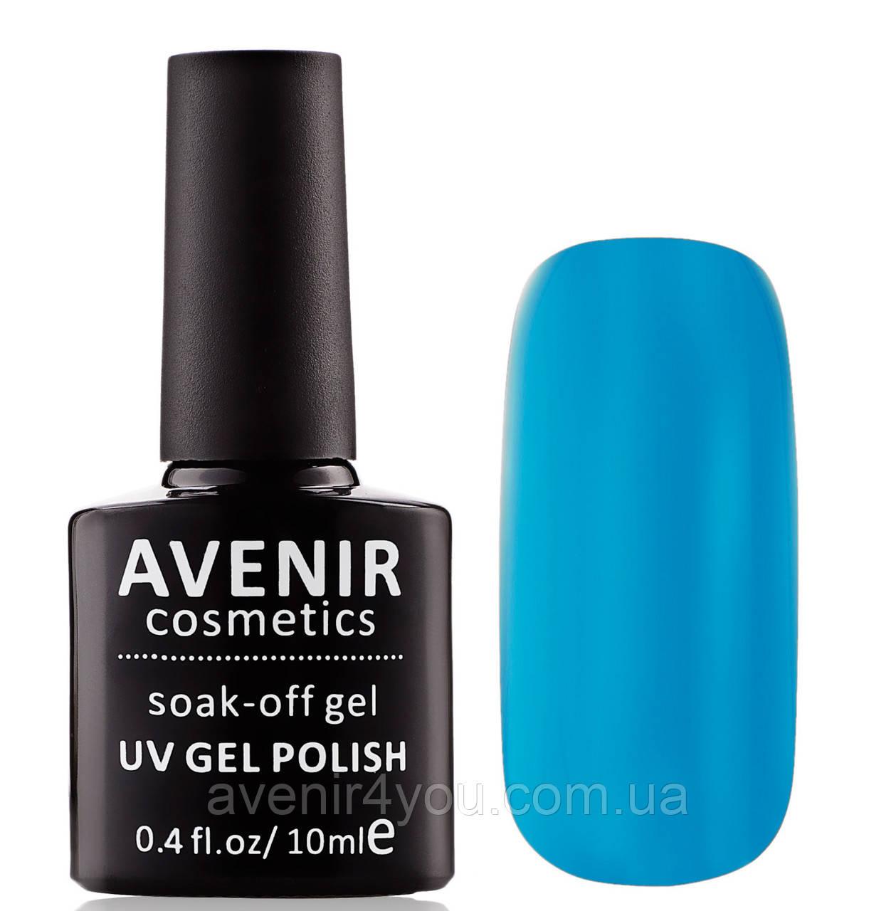 Гель-лак AVENIR Cosmetics №87. Голубая лазурь