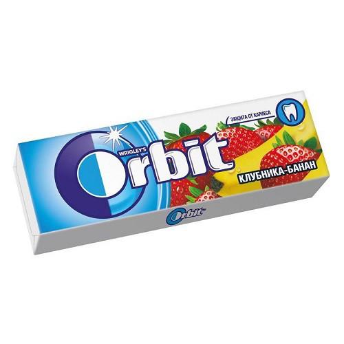 Орбит / Orbit жевательная резинка КЛУБН/БАНАН 14гр/30шт