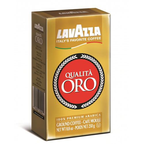 Кофе Lavazza Qualita Oro  молотый 0,25 кг