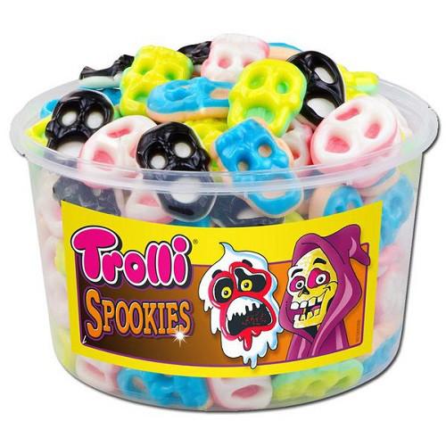 Тролли Маска / Trolli Spookies (6 штук в ящике)