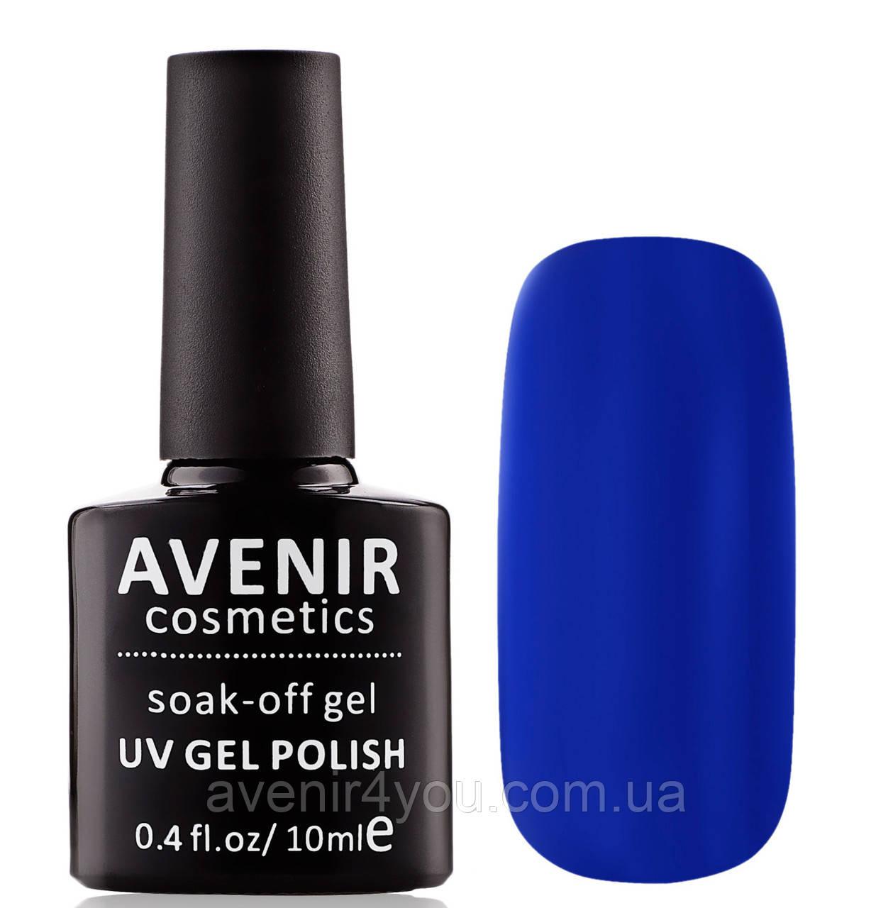 Гель-лак AVENIR Cosmetics №89. Синий бриз