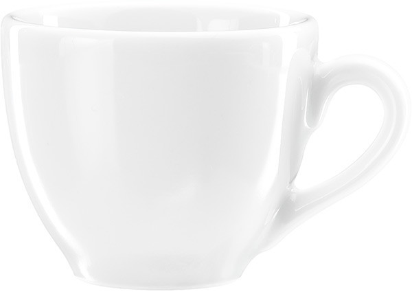 Чашка 80 мл. фарфоровая, белая espresso Mira, FoREST