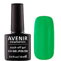 Гель-лак AVENIR Cosmetics №93. Салатовый электрик