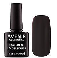 Гель-лак AVENIR Cosmetics №97. Черная эмаль