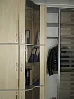 Шкаф купе в алюминиевом профиле