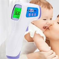 Термометр бесконтактный ZOSS T049 для тела (32-42,9℃), предметов (0 +100℃), фото 1
