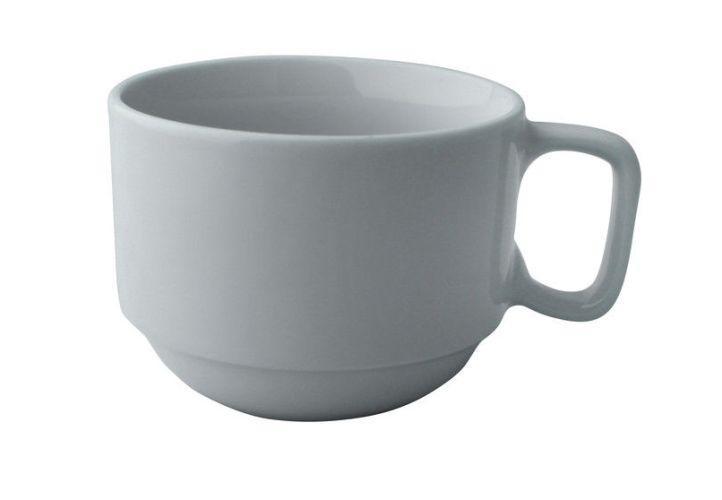 Чашка 220 мл. фарфоровая, белая Bistro, FoREST