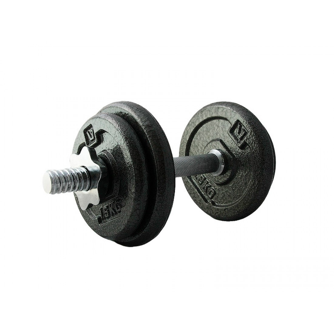 Гантель наборная железная LiveUp DUMBELL SET, 10 кг