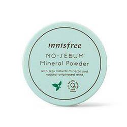 Рассыпчатая Минеральная Пудра для Лица Innisfree No-Sebum Mineral Powder 5 g, Прозрачная