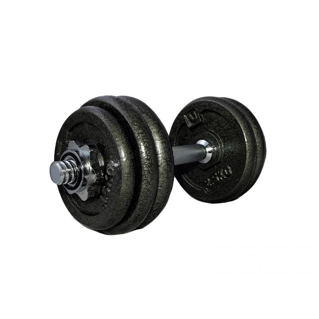 Гантель наборная железная LiveUp DUMBELL SET, 15 кг