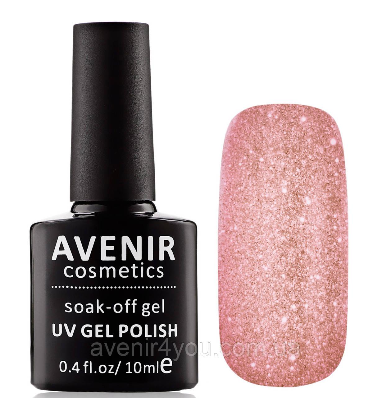 Гель-лак AVENIR Cosmetics №188. Бриллиантовый розовый