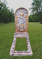 Ритуальный памятник из бетона