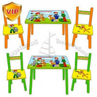 Столик и 2 стульчика Простоквашино