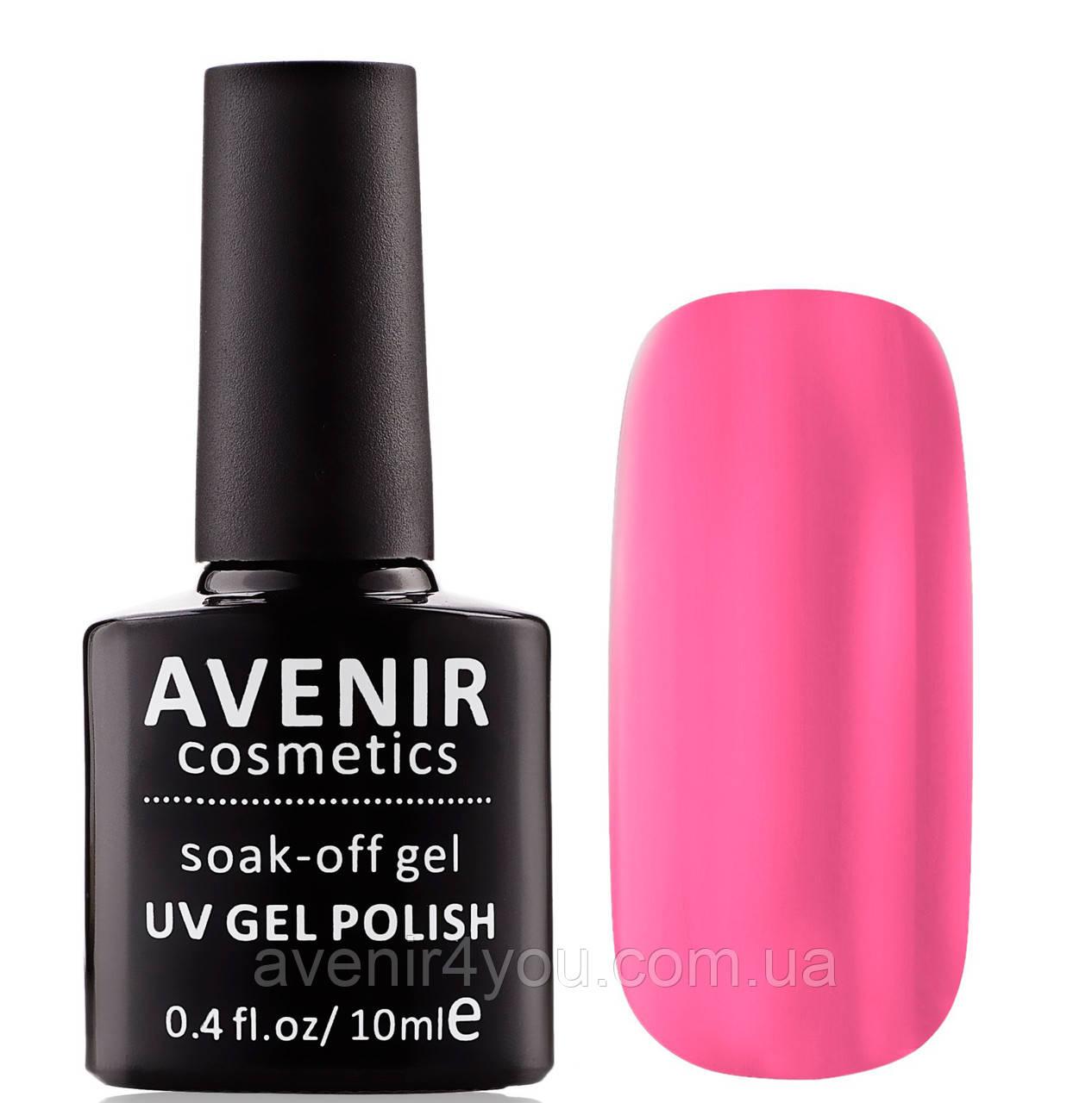 Гель-лак AVENIR Cosmetics №196. Ярко-розовый