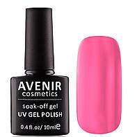Гель-лак AVENIR Cosmetics №196. Ярко-розовый, фото 1