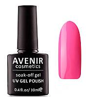 Гель-лак AVENIR Cosmetics №197. Розовый электрик, фото 1