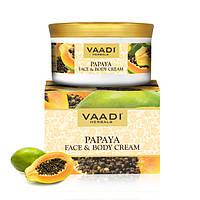 Крем питательный Папайя для лица и тела, Face & Body Cream Papaya, 150 гр