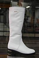 Женские сапоги RoMaX 602 белые