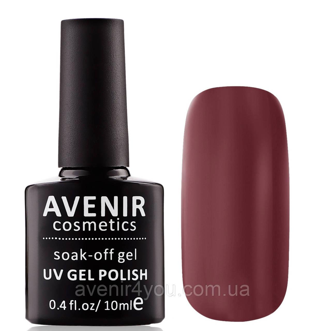 Гель-лак AVENIR Cosmetics № 208 Гранатовый мусс