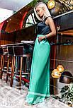 Изысканное вечернее платье с юбкой из габардина, фото 2