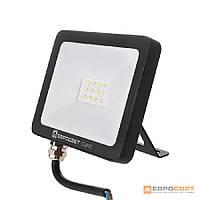 Прожектор ЛІД 50Вт 6400K Slim Standart Евросвет