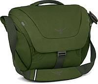 Сумка Osprey Flap Jack Courier, зеленый