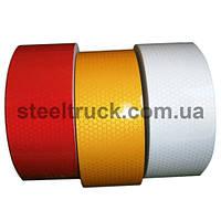 Лента светоотражающая полимерная красная (ELIF)