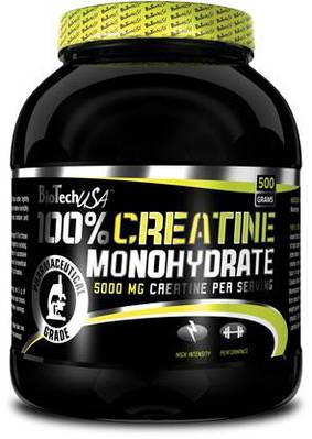 BT 100% CREATINE MONOHYDRATE банка - 500g